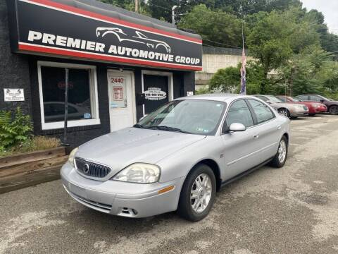2004 Mercury Sable for sale at Premier Automotive Group in Pittsburgh PA