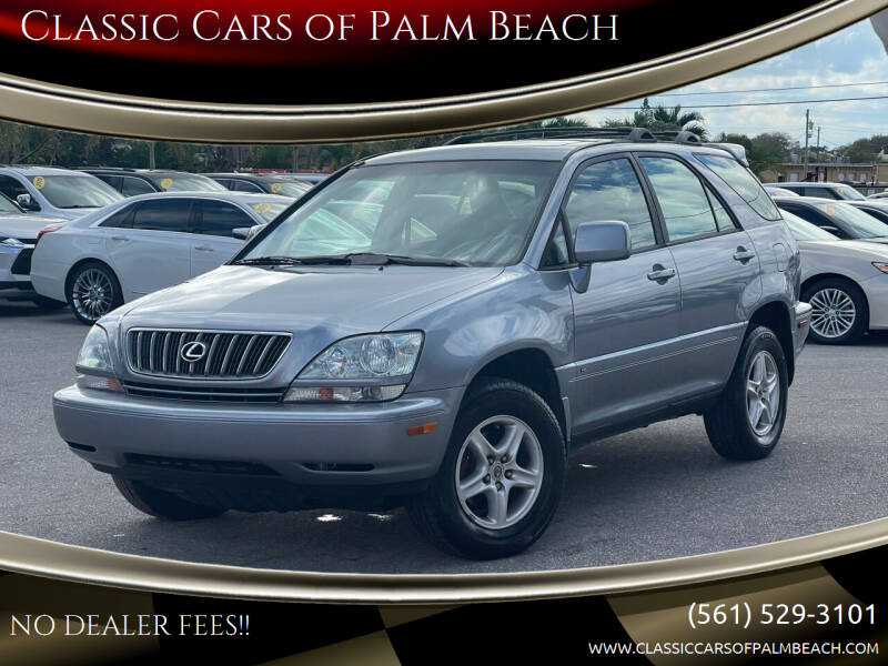 2002 Lexus RX 300 for sale at Classic Cars of Palm Beach in Jupiter FL