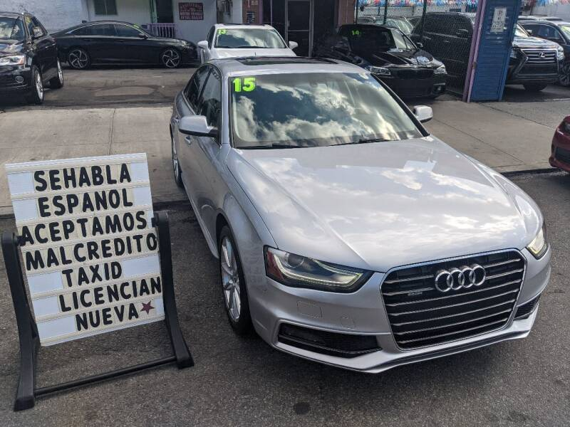 2015 Audi A4 for sale at 4530 Tip Top Car Dealer Inc in Bronx NY