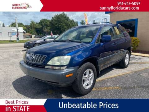 2001 Lexus RX 300 for sale at Sunny Florida Cars in Bradenton FL