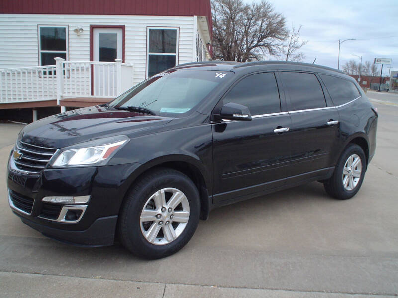 2014 Chevrolet Traverse for sale at World of Wheels Autoplex in Hays KS