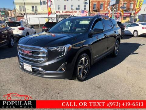2020 GMC Terrain for sale at Popular Auto Mall Inc in Newark NJ