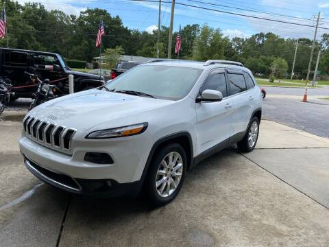 2015 Jeep Cherokee for sale at INTERSTATE AUTO SALES in Pensacola FL