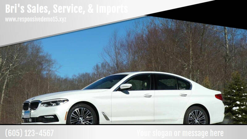 2017 BMW 5 Series for sale at Bri's Sales, Service, & Imports in Long Beach CA