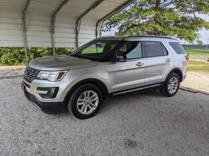 2016 Ford Explorer for sale at Halstead Motors LLC in Halstead KS
