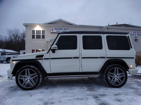 2004 Mercedes-Benz G-Class for sale at SOUTHERN SELECT AUTO SALES in Medina OH