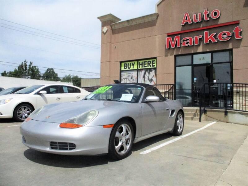 2002 Porsche Boxster for sale at Auto Market in Oklahoma City OK