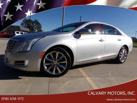 2014 Cadillac XTS for sale at Calvary Motors, Inc. in Bixby OK