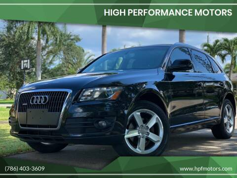 2011 Audi Q5 for sale at HIGH PERFORMANCE MOTORS in Hollywood FL
