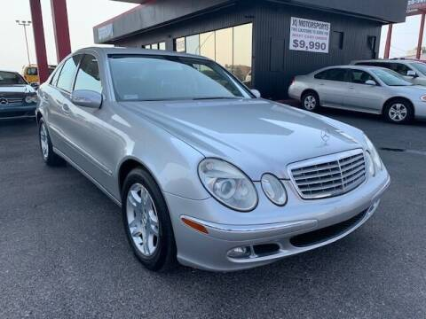 2006 Mercedes-Benz E-Class for sale at JQ Motorsports East in Tucson AZ