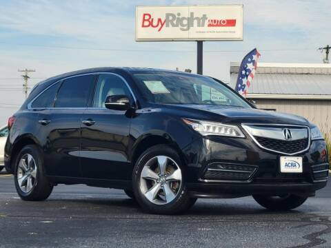 2016 Acura MDX for sale at BuyRight Auto in Greensburg IN