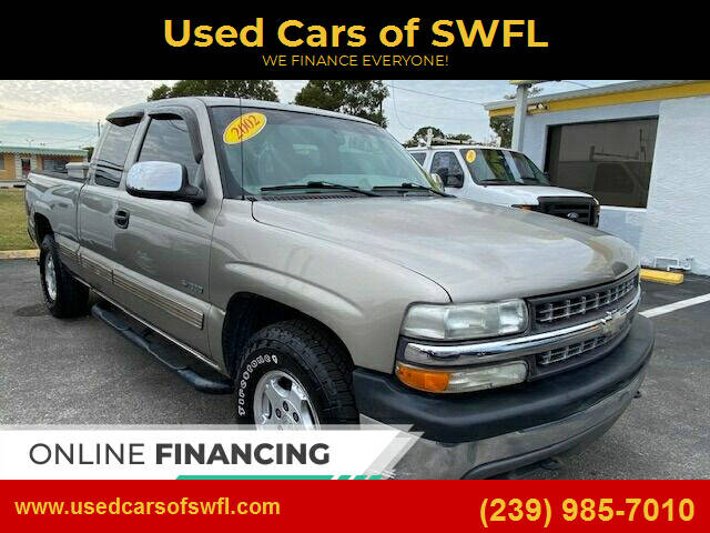 2002 Chevrolet Silverado 1500 for sale at Used Cars of SWFL in Fort Myers FL