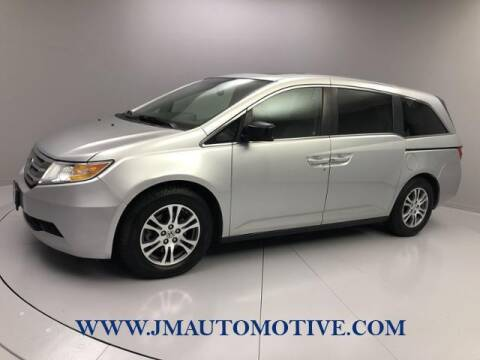 2012 Honda Odyssey for sale at J & M Automotive in Naugatuck CT