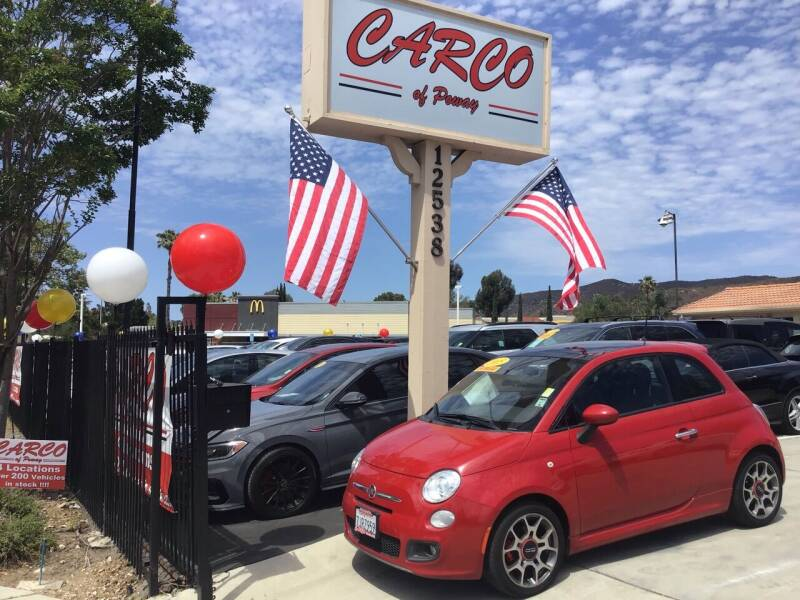 2015 FIAT 500 for sale at CARCO SALES & FINANCE - CARCO OF POWAY in Poway CA