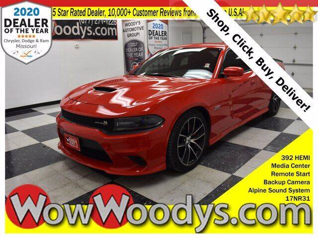 2017 Dodge Charger for sale at WOODY'S AUTOMOTIVE GROUP in Chillicothe MO