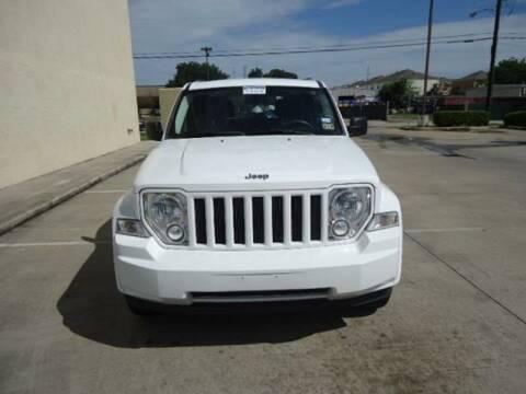 2012 Jeep Liberty for sale at ATLANTIC MOTORS GP LLC in Houston TX