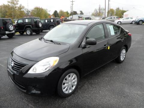 2014 Nissan Versa for sale at CARSON MOTORS in Cloverdale IN