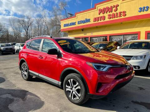 2017 Toyota RAV4 for sale at Popas Auto Sales in Detroit MI