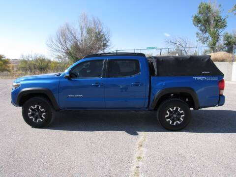 2016 Toyota Tacoma for sale at HOO MOTORS in Kiowa CO