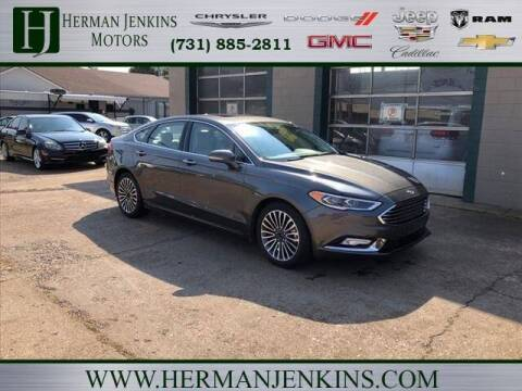 2018 Ford Fusion for sale at Herman Jenkins Used Cars in Union City TN