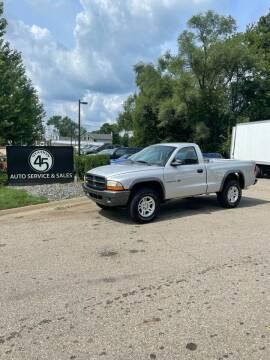 2002 Dodge Dakota for sale at Station 45 Auto Sales Inc in Allendale MI