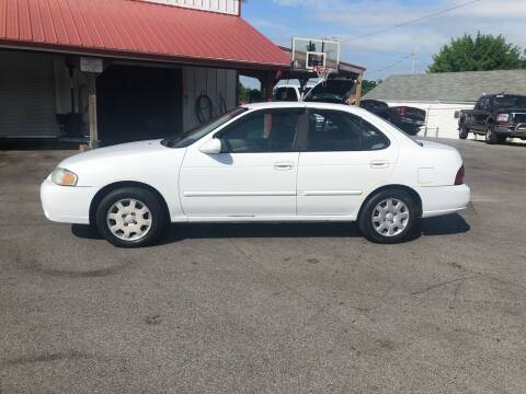 2002 Nissan Sentra for sale at Ridley Auto Sales, Inc. in White Pine TN