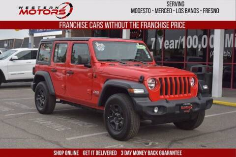 2019 Jeep Wrangler Unlimited for sale at Choice Motors in Merced CA