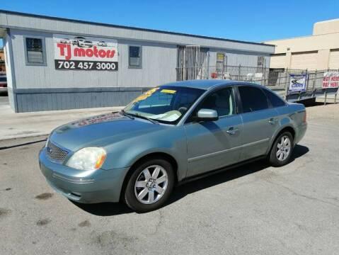2005 Ford Five Hundred for sale at TJ Motors in Las Vegas NV