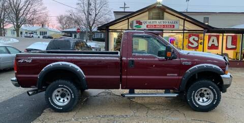 2004 Ford F-250 Super Duty for sale at NJ Quality Auto Sales LLC in Richmond IL