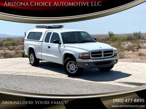 2003 Dodge Dakota for sale at Arizona Choice Automotive LLC in Mesa AZ