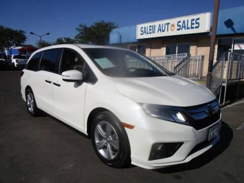 2019 Honda Odyssey for sale at Salem Auto Sales in Sacramento CA