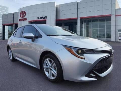2019 Toyota Corolla Hatchback for sale at BEAMAN TOYOTA in Nashville TN