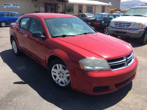 2012 Dodge Avenger for sale at Creekside Auto Sales in Pocatello ID