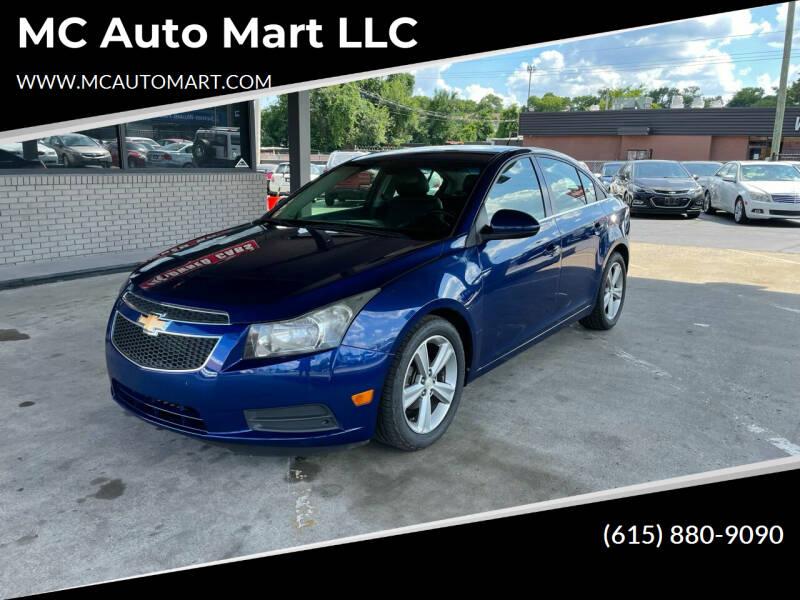 2012 Chevrolet Cruze for sale at MC Auto Mart LLC in Hermitage TN