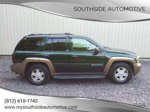 2002 Chevrolet TrailBlazer for sale at Southside Automotive in Washington IN