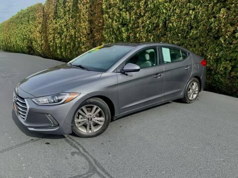 2018 Hyundai Elantra for sale at Yaktown Motors in Union Gap WA