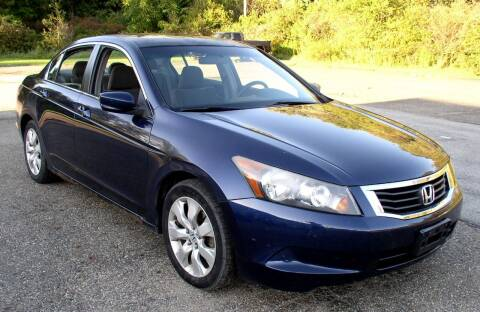 2008 Honda Accord for sale at Angelo's Auto Sales in Lowellville OH