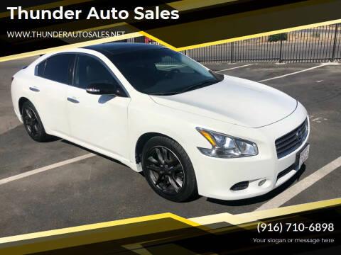 2011 Nissan Maxima for sale at Thunder Auto Sales in Sacramento CA