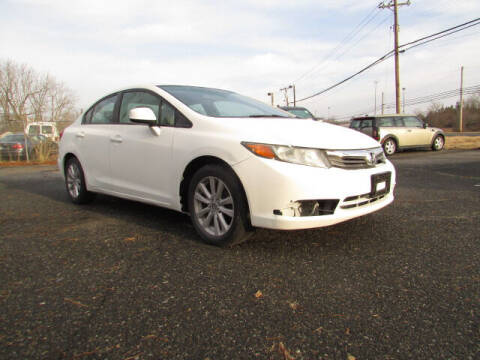 2012 Honda Civic for sale at Auto Outlet Of Vineland in Vineland NJ