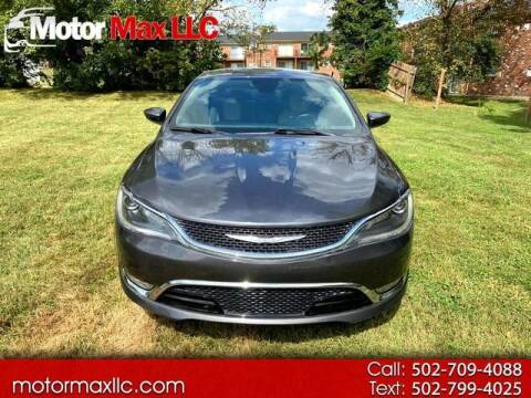 2015 Chrysler 200 for sale at Motor Max Llc in Louisville KY