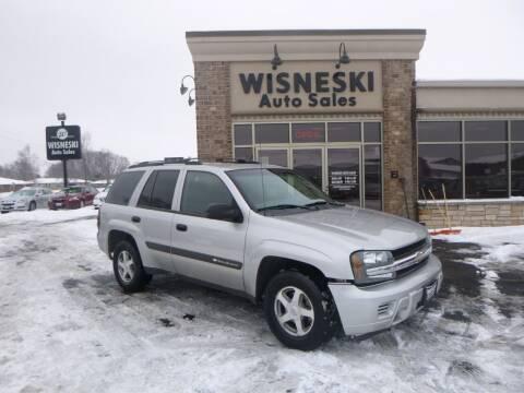 2004 Chevrolet TrailBlazer for sale at Wisneski Auto Sales, Inc. in Green Bay WI