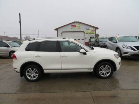 2012 Volkswagen Touareg for sale at Jefferson St Motors in Waterloo IA