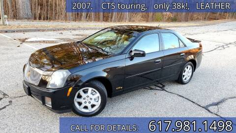 2007 Cadillac CTS for sale at Wheeler Dealer Inc. in Acton MA