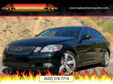 2007 Lexus GS 350 for sale at Baba's Motorsports, LLC in Phoenix AZ