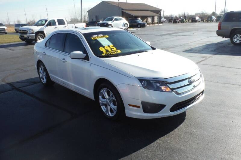 2012 Ford Fusion for sale at Bryan Auto Depot in Bryan OH