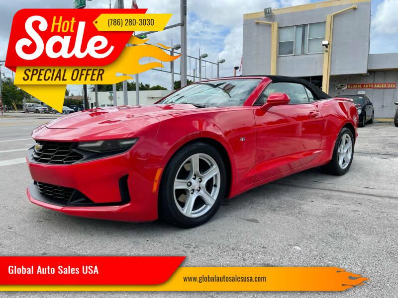 2019 Chevrolet Camaro for sale at Global Auto Sales USA in Miami FL