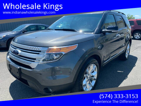 2015 Ford Explorer for sale at Wholesale Kings in Elkhart IN