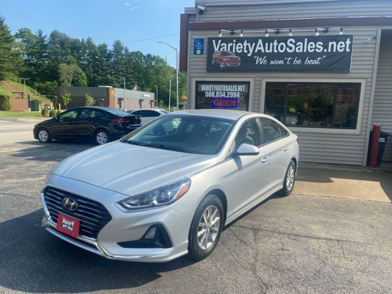 2018 Hyundai Sonata for sale at Variety Auto Sales in Worcester MA