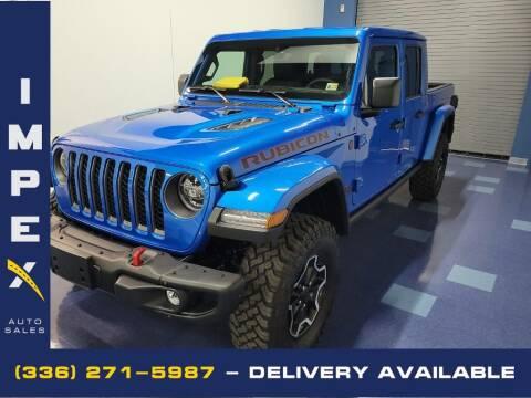 2021 Jeep Gladiator for sale at Impex Auto Sales in Greensboro NC