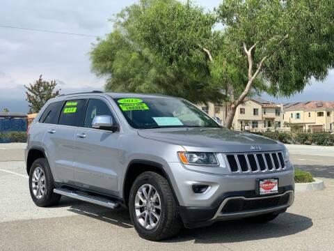 2015 Jeep Grand Cherokee for sale at Esquivel Auto Depot in Rialto CA